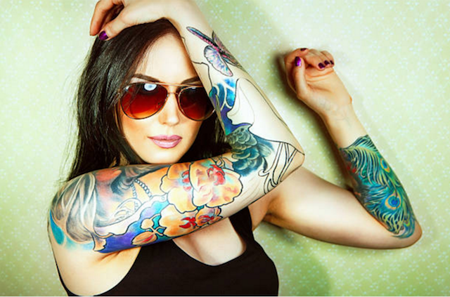 Naperville tattoo removal woman